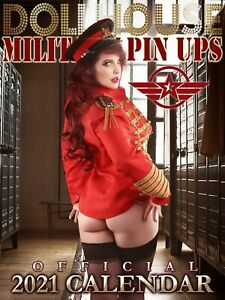 SOLD OUT: DOLLHOUSE MILITARY PIN-UPS CALENDAR 2021 - LINGERIE BEAUTIES