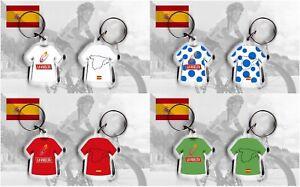 LA VUELTA ESPANA t-shirt/jersey keyring cycling, team sky Chris Froome SPAIN