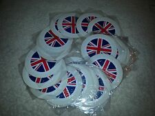 4 X UNION JACK PERMIT / TAX DISC HOLDERS CAR, VAN BOAT JOB LOT BARGAIN CRAFTS