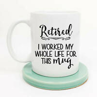 Sarcastic Retirement Goodbye Tension Gift For Retiree Coffee Mug