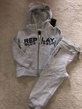 Replay Boys Grey Tracksuit, Brand New With Tags, 12 Months