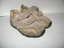 TIMBERLAND BOYS CASUAL ANKLE SHOES size 7.5 BROWN LEATHER CUTE