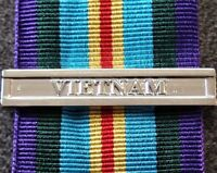 VIETNAM CLASP TO THE AUSTRALIAN ACTIVE SERVICE MEDAL 1945-75 REPLICA