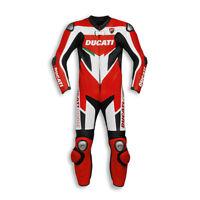 DUCATI Dainese Corse C3 Lederkombi Kombi Leather Suit Einteiler Tricolore NEU !!