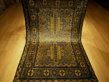 4 x 7 Handmade Rug Veggie Dyes Hand Spun Wool Afghan Baluchi Excellent Condition
