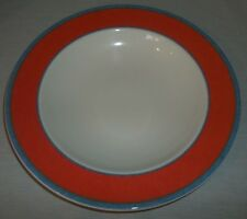 Villeroy & and Boch large TIPO VIVA RED rimmed soup / pasta bowl