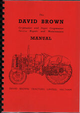 David Brown Cropmaster & Super Cropmaster Service Repair Manual