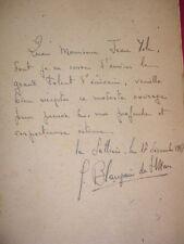 FAUSSE ROUTE ou L'ECOLE DE JONAS  Guillaume B.de Saint-Mars  avec envoi
