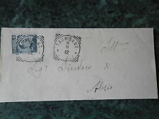 LETTERA 08.09.1912 DA TAURISANO PER IL SINDACO DI ALEZIO CON 15 CENT. MICHETTI