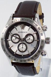Versace Watch Mens Chronograph VEV700119 Swiss Made Brand New