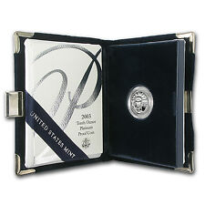 2003-W 1/10 oz Proof Platinum American Eagle (w/Box & COA) - SKU #8578