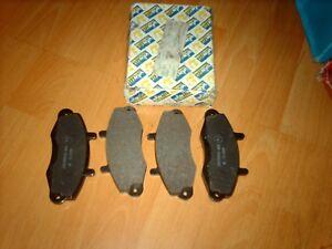 "Axle set front brake pads for Ford Transit Mk4 Mk5 14"""" wheels 1991 - 2000"