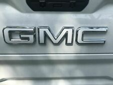 19 GMC Sierra Emblem Overlay Decal GLOSS WHITE Front & Rear | PRECUT NO CUTTING