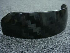 SALE: 12K Carbon fiber panel for ARAI GP-6 series auto helmet shield (was $48)