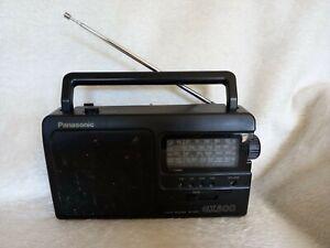 Panasonic GX500 RF-3500 FM LW MW SW RADIO BLACK .(WORKING).