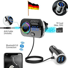 Bluetooth FM Transmitter Auto MP3 Player USB KFZ SD AUX Freisprechanlage Car Kit