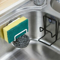 Kitchen Suction Cup Sink Drain Rack Wall Sucker Sponge Storage Drying Holder