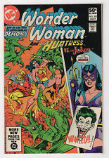 Wonder Woman #281 (Jul 1981, DC) [Huntress Joker Demon] Conway Levitz Staton c