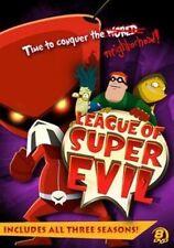 League of Super Evil Megaset 0025192206443 DVD Region 1 P H