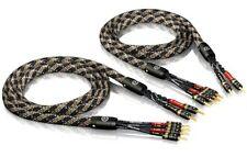 3 00m ViaBlue Sc-4 Bi Wire con T6s Banana 3 0m 3m (1 Coppia)