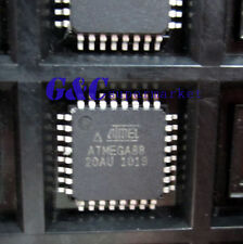 50PCS IC ATMEGA88-20AU ATMEGA88 IC AVR MCU 8K 20MHZ 5V 32TQFP ATMEL