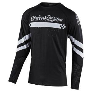 Troy Lee Designs TLD Mens SE Ultra Factory Black Jersey MX Motocross Off Road