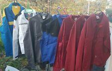 Lot revendeur / déstockage de 8 vestes de travail