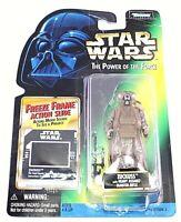"Vintage New Sealed Star Wars 1997 Hasbro 4"" Action Figure Zuckuss Action Slide"