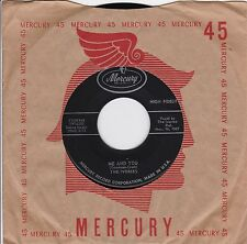 "The Ivories ""Me And You"" & ""I'm In Love"" 1957 Doo Wop Looks VG++ Plays NM"