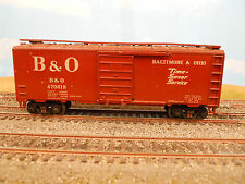 "HO SCALE KAR-LINE BALTIMORE & OHIO B&O #470618 ""TIME SAVER"" 40' BOX CAR"