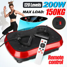 Massager Vibration Platform Plate Workout Machine Slim Exercise Home Fitness New