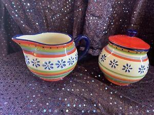 Casa Domani Milk And Sugar Bowl Set