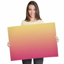 A1 - Red Orange Sunset Ombre Fun Poster 60X90cm180gsm Print #2684