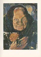 """1976 Vintage SALVADOR DALI """"PORTRAIT OF LUCIA"""" Color Print Art Lithograph"""