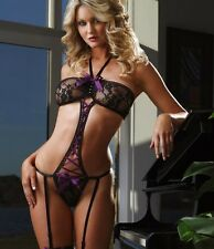 Sexy Women Lingerie Lace Set Underwear Babydoll Sleepwear G-String Nightwear Hot