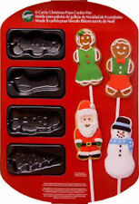 Christmas Non-Stick Cookie Pop Pan 8 cavity from Wilton #0286