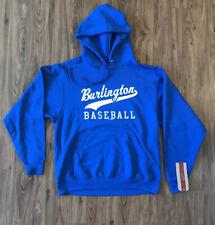 Burlington Royals Sweatshirt Hoodie Minor League Baseball NC Medium NWT