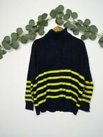 VINCE CAMUTO Sweater Turtle Neck Women's Pullover Striped Long Sleeve Size M NWT