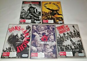 Sons Of Anarchy Season 1,2,3,5,6 DVD