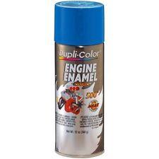 Duplicolor DE1608 Engine Enamel Paint, General Motors Blue, 12 Oz Can