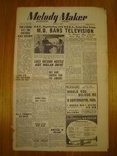 MELODY MAKER 1948 APR 3 JOE LOSS BBC JAZZ DENNY DENNIS
