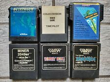Lot of 6 COLECOVISION Games, Uncommon Titles, All Tested & Work, ARTILLERY DUEL