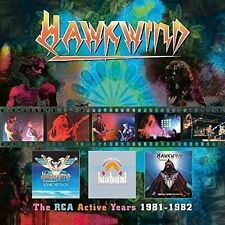 The RCA Active Years 1981-1982 * by Hawkwind (CD, Nov-2016, 3 Discs, Atomhenge)