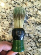 Vintage Shaving Brush Green Bakelite EverReady 150 See Pics
