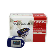 CONTEC Medizin Pulsmessgerät Finger Pulse oximeter Anschluss RECORDER 50D+SPO2
