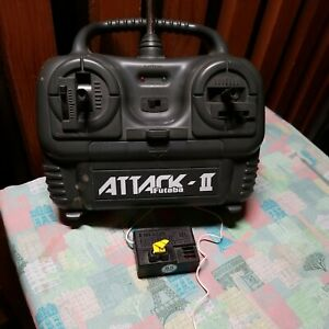 Futaba Attack II Receiver and Transmitter