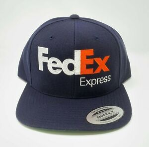 FedEx Express Snapback Hat Cap Yupoong Adjustable