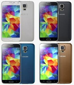 Samsung Galaxy S5 G900 - 16GB / 32GB - Black / White / Gold - Android Smartphone
