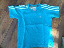 Adidas T-Shirt Gr. 128, türkis  Neuwertig