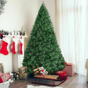 4.5FT Green Christmas Tree Holiday Festival Home Decoration In/Outdoor w/ Stand